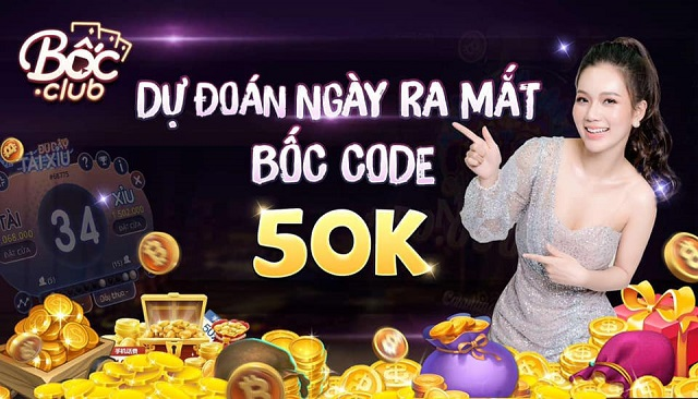 Bốc CLub Giftcode